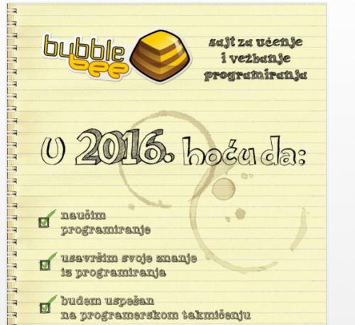 Deo flajera koji su nam momci dali na štandu. Za više informacija, otvorite sajt: bee.bubblecup.org